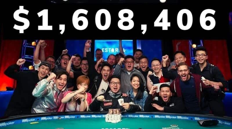 ワールドシリーズオブポーカー4日目フィニッシュで354人に絞られる!